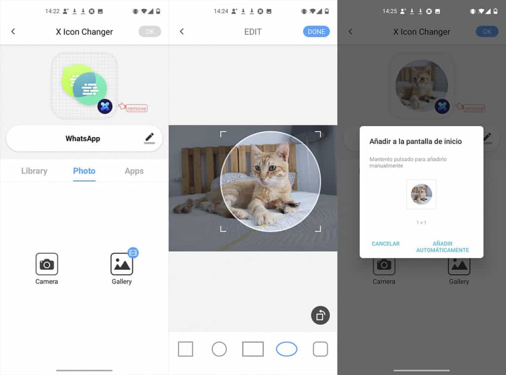 Image 2: How to Create Icons for Apps Using Photos from your Gallery