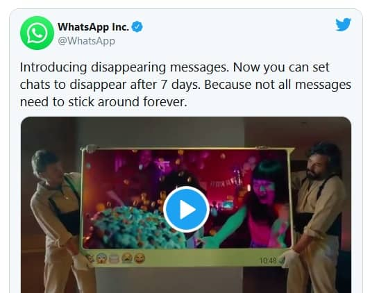 Image 2: How to Activate Disappearing Messages on WhatsApp