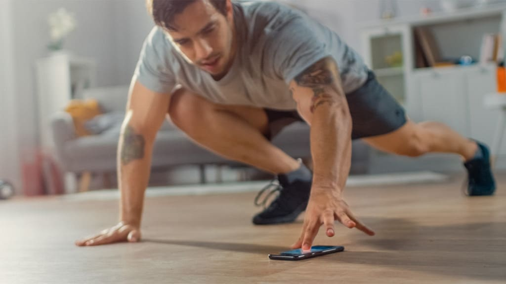 Image 1: Best Fitness Apps For At-Home Workouts