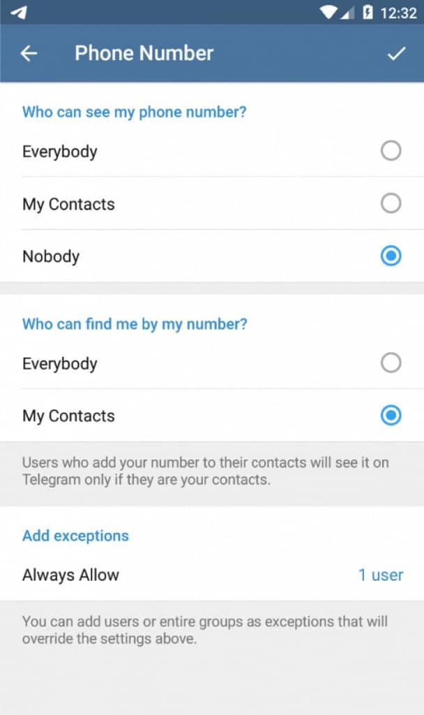 Image 3: How to Hide Your Phone Number on Telegram
