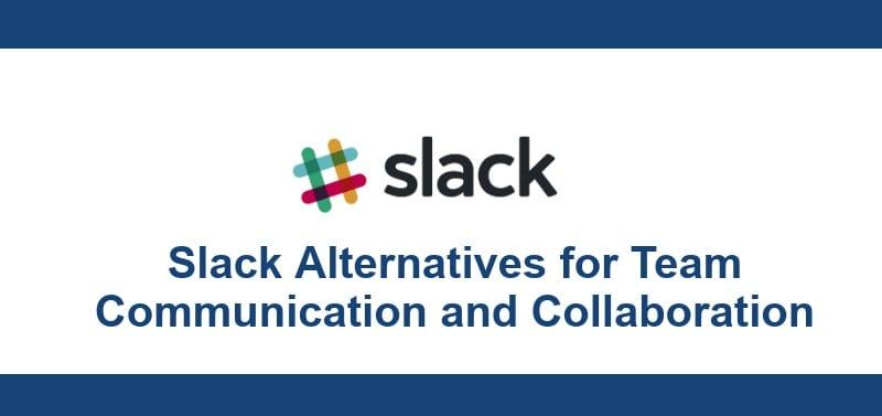 Image 2: Best Free Slack Alternatives for Team Communication