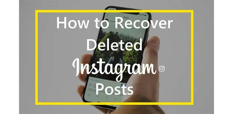 Image 2: How to Restore Recently Deleted Instagram Posts