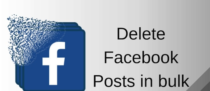 How to Delete Facebook Posts in Bulk