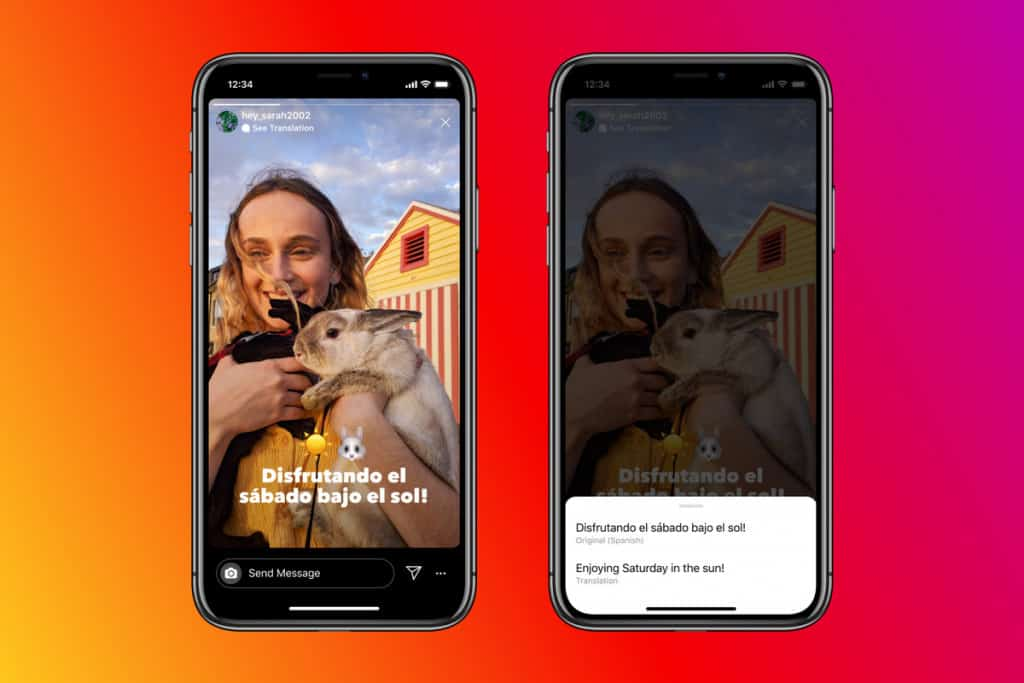 Image 1: How to Translate Text on Instagram Stories