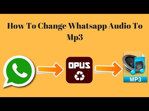 How to Convert WhatsApp Audios to MP3 on Android