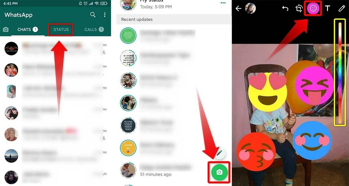 Image 3: How to Change the Color of WhatsApp Emojis