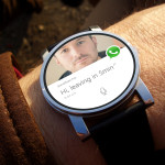 picture for WhatApp update allows you to reply by voice on Android Wear