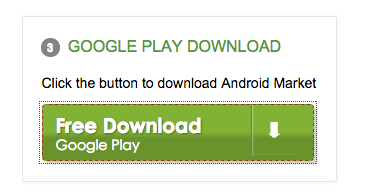 Download Android Market by email and QR code   Android