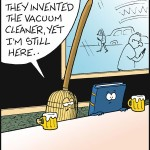 If the broomstick survived the invention of vacuum cleaner…