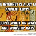 Ancient Egypt…