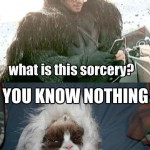 You Know Nothing John Snow