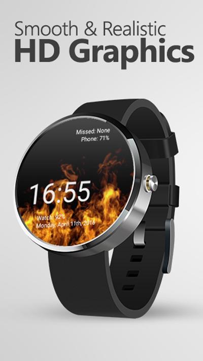 live fire watch face