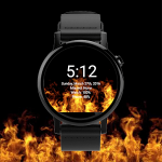 WatchFace - Live Fire Wallpaper