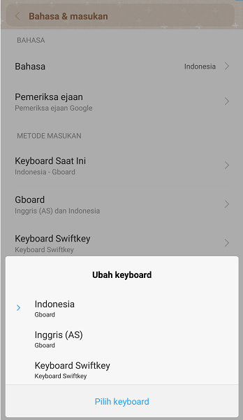 Cara Mengganti Keyboard pada Ponsel Android 2