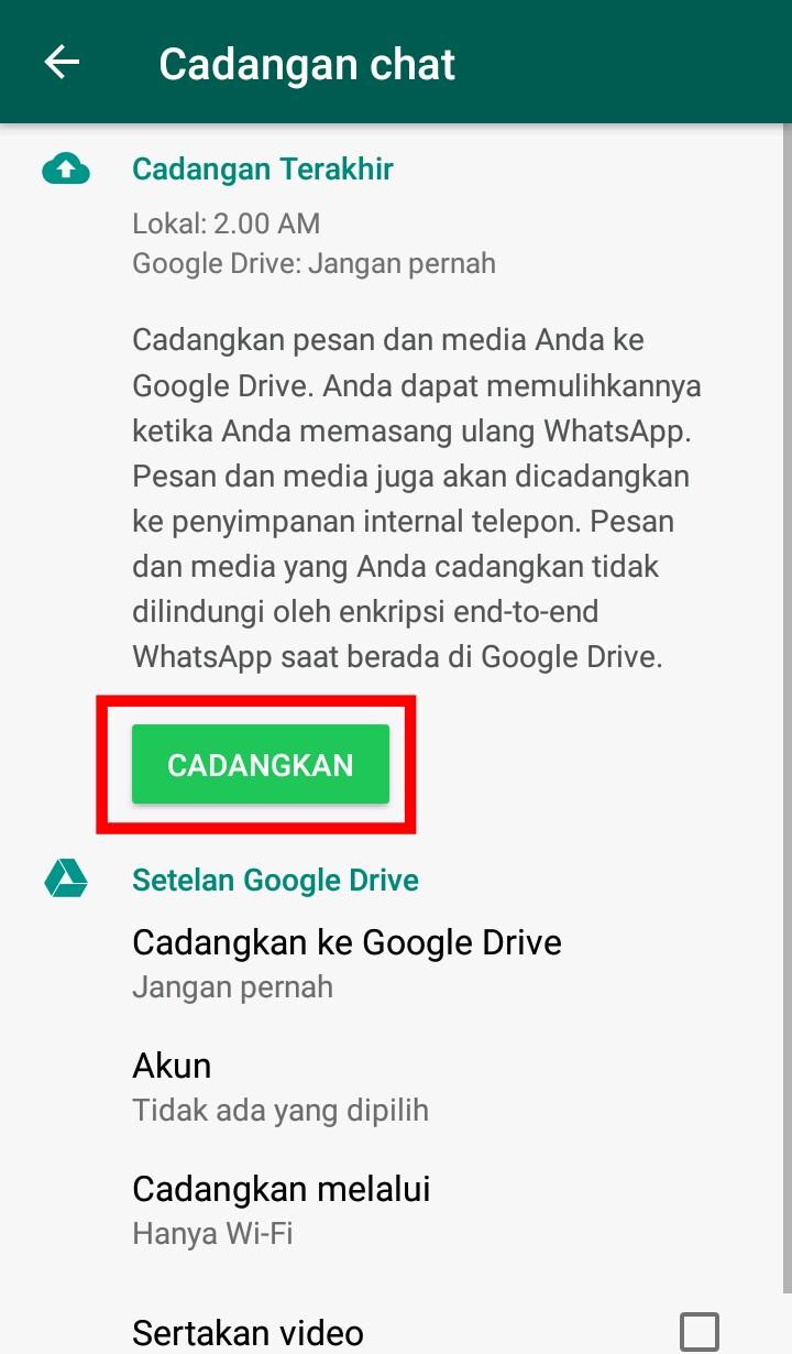 Image 3 Cara Memindahkan Obrolan WhatsApp Lama ke Smartphone Android Baru