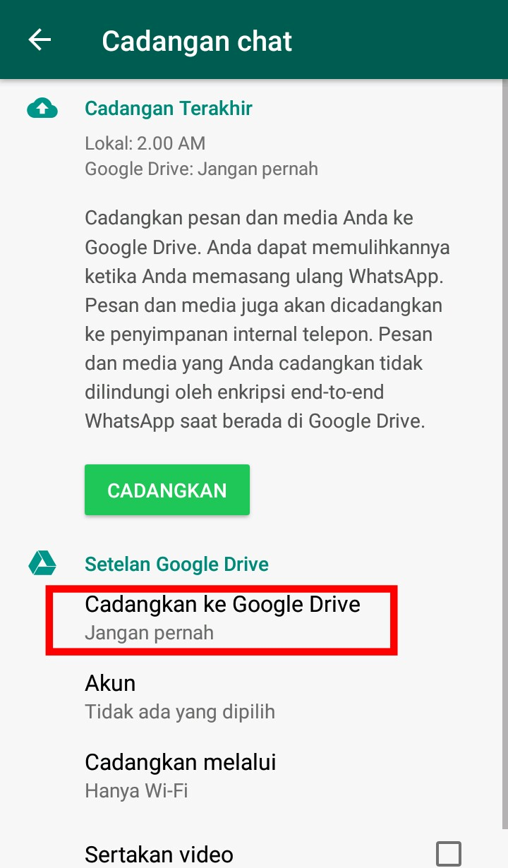 Image 4 Cara Memindahkan Obrolan WhatsApp Lama ke Smartphone Android Baru