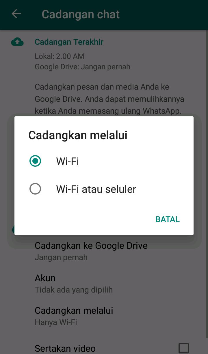 Image 6 Cara Memindahkan Obrolan WhatsApp Lama ke Smartphone Android Baru