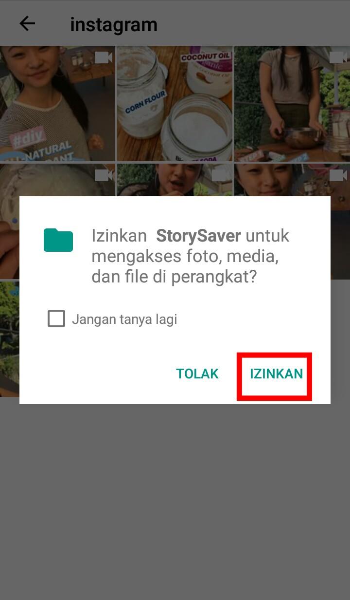 Image 3 Cara Mengunduh Story Instagram Seseorang di Android