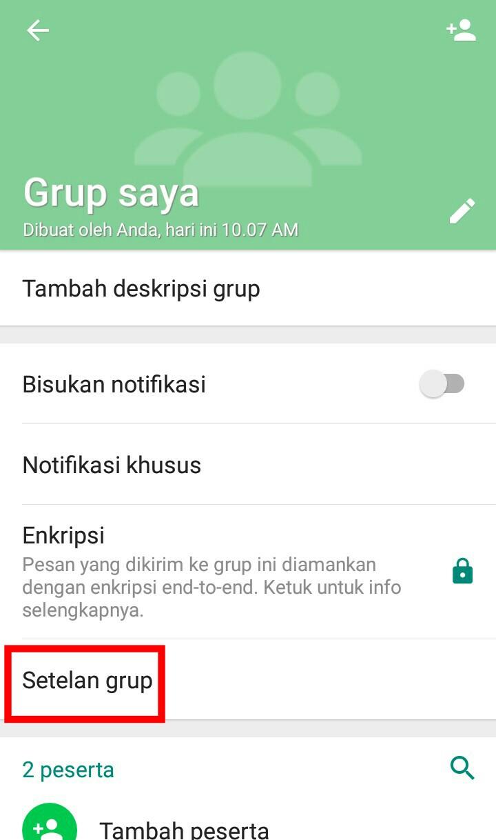 Image 5 Membuat dan Mengelola Grup Terbatas di WhatsApp