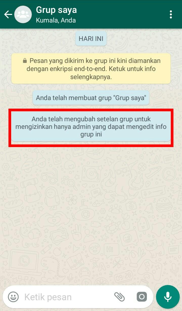 Image 9 Membuat dan Mengelola Grup Terbatas di WhatsApp