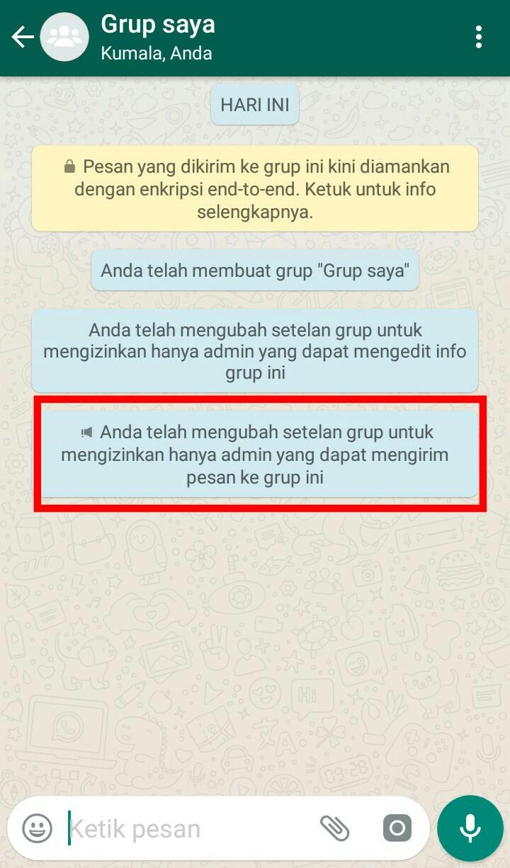 Image 10 Membuat dan Mengelola Grup Terbatas di WhatsApp