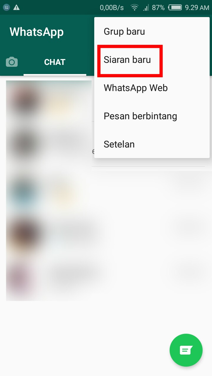 Apa Itu Siaran Whatsapp Dan Bagaimana Cara Menggunakannya