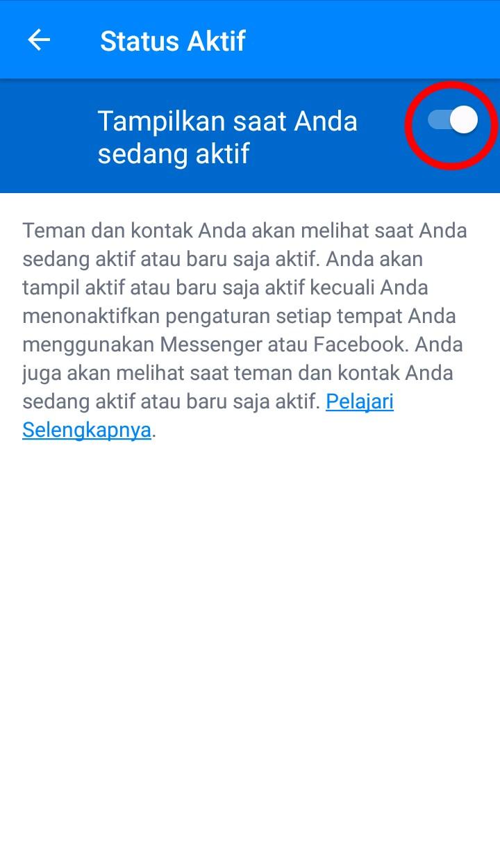 Image 5 Menyembunyikan Status Aktif Anda di Facebook Messenger
