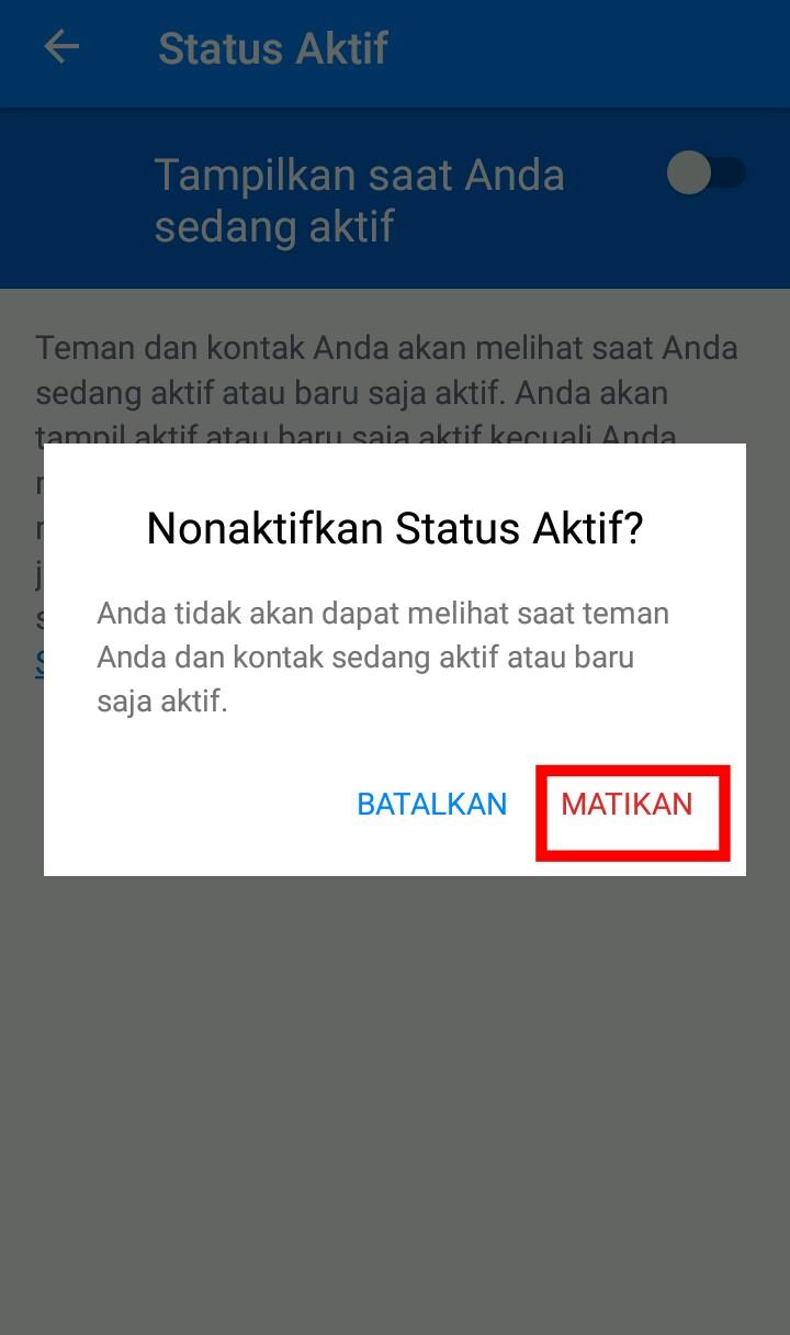 Image 7 Menyembunyikan Status Aktif Anda di Facebook Messenger
