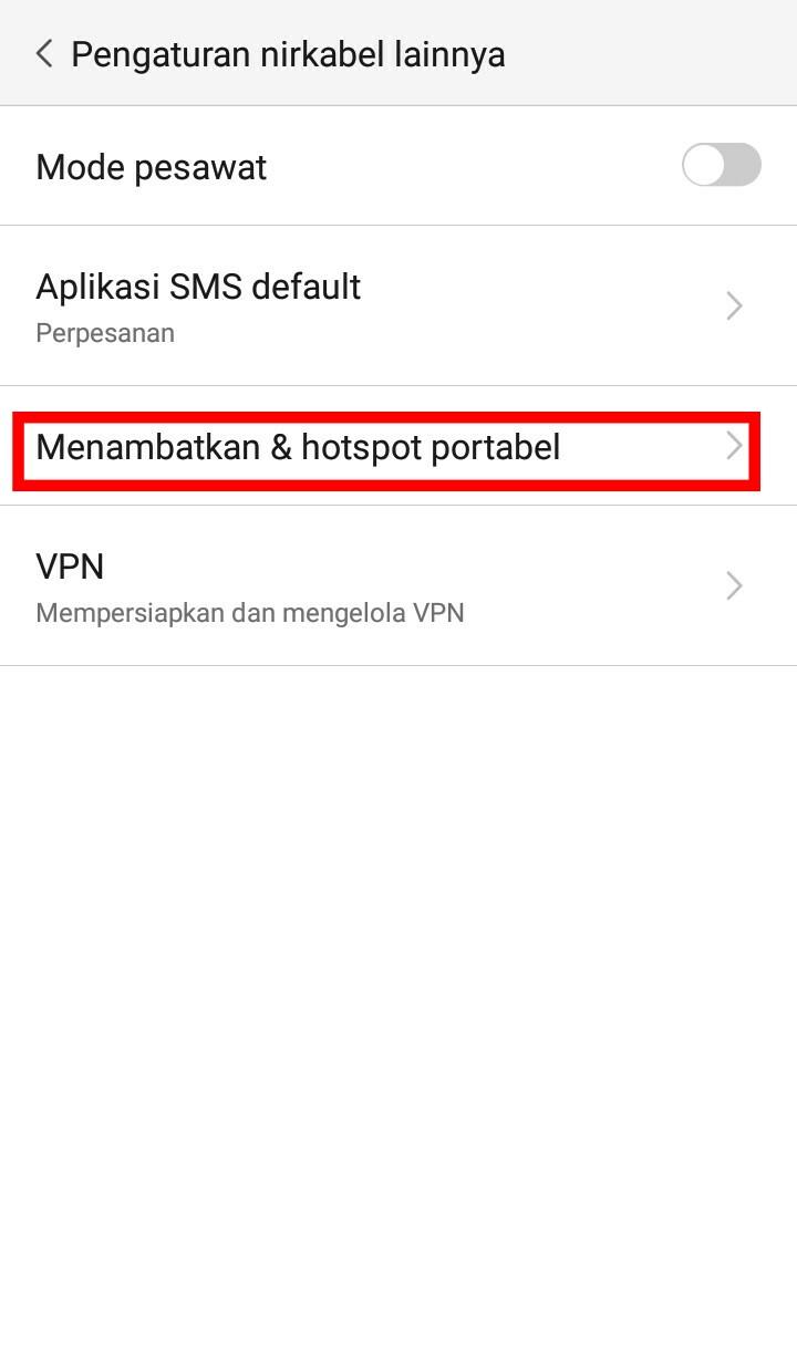 Image 4 Cara Menggunakan Ponsel Android Sebagai Hospot WiFi