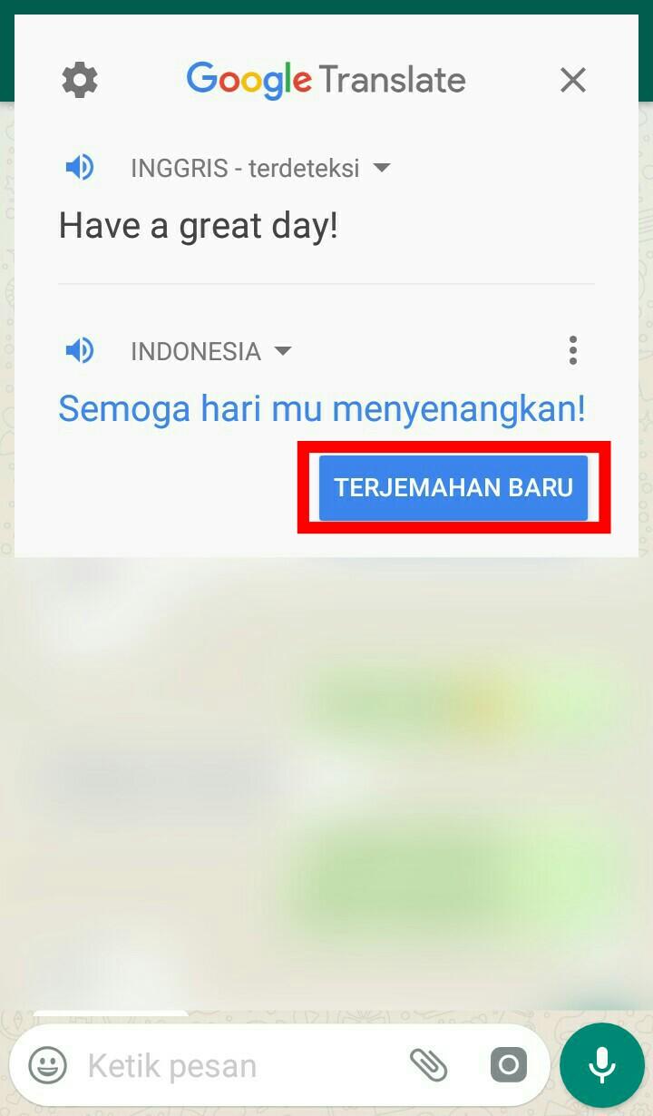 Image 1 Menerjemahkan Obrolan WhatsApp atau Facebook Secara Langsung