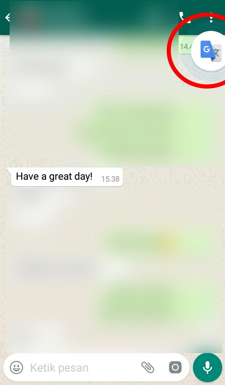 Image 4 Menerjemahkan Obrolan WhatsApp atau Facebook Secara Langsung