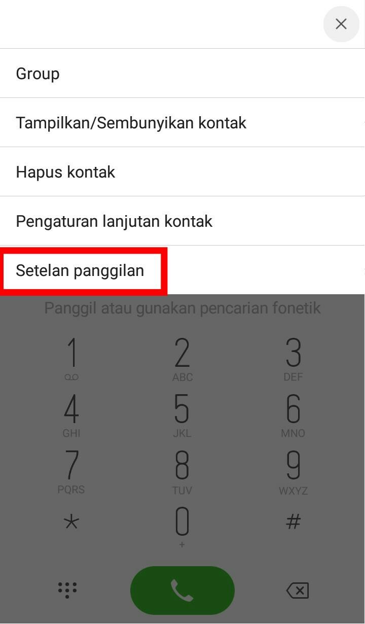 Image 4 Cara Menyembunyikan Nomor Telepon di Android
