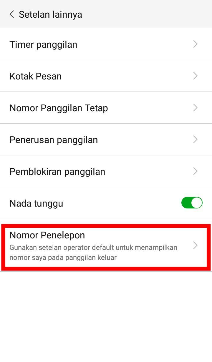 Image 6 Cara Menyembunyikan Nomor Telepon di Android