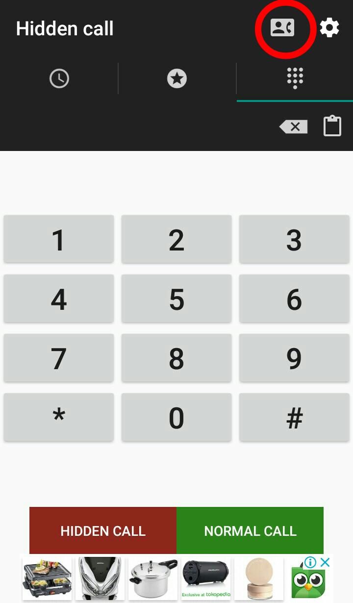 Image 10 Cara Menyembunyikan Nomor Telepon di Android
