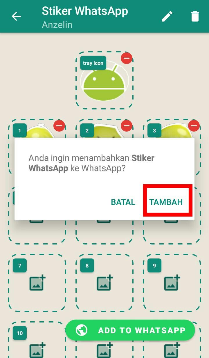 Image 5 Cara Membuat dan Mengirim Stiker Pribadi Anda di WhatsApp