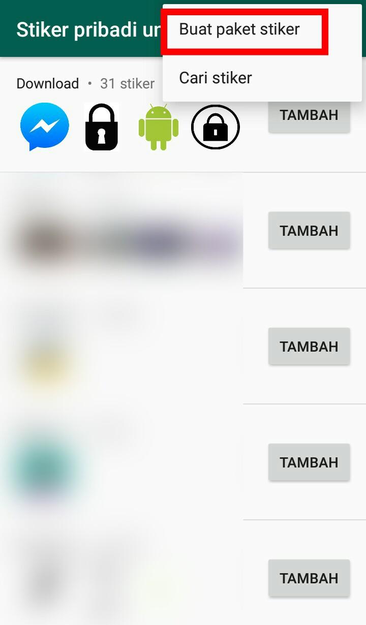 Image 8 Cara Membuat dan Mengirim Stiker Pribadi Anda di WhatsApp