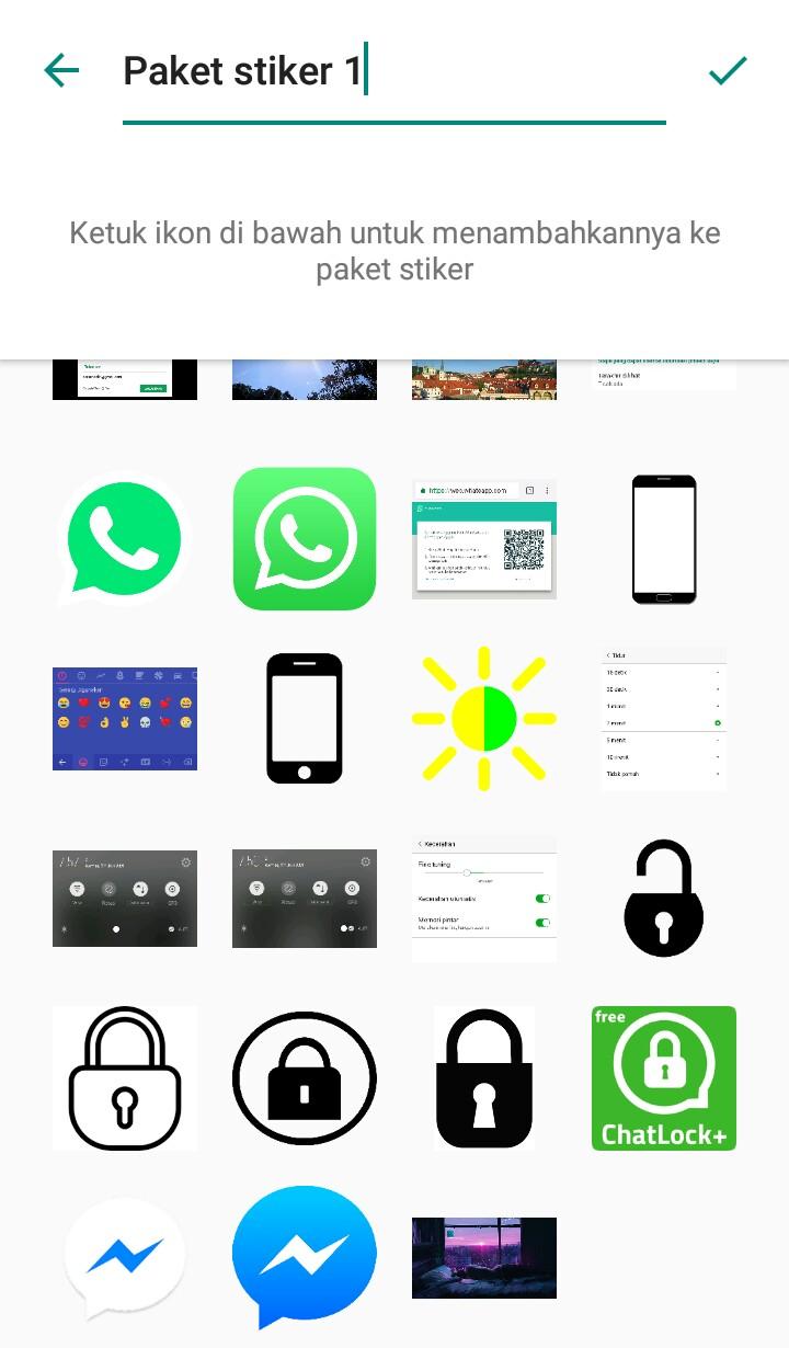 Image 9 Cara Membuat dan Mengirim Stiker Pribadi Anda di WhatsApp