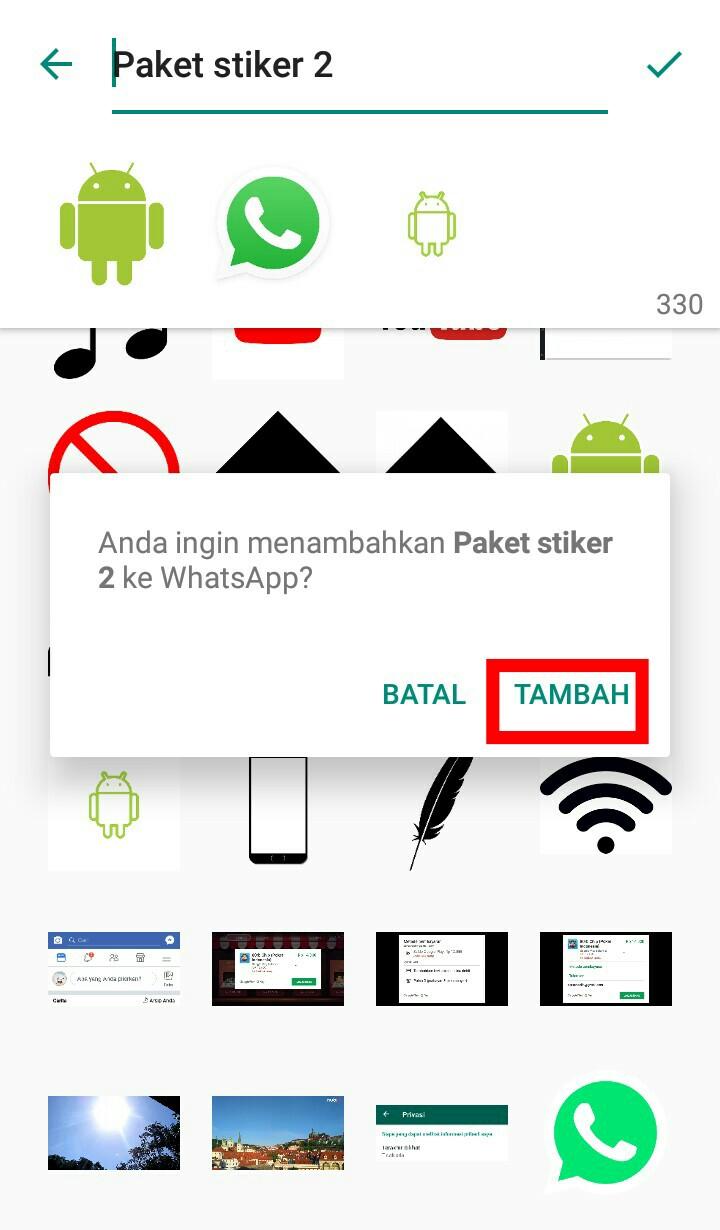 Image 14 Cara Membuat dan Mengirim Stiker Pribadi Anda di WhatsApp