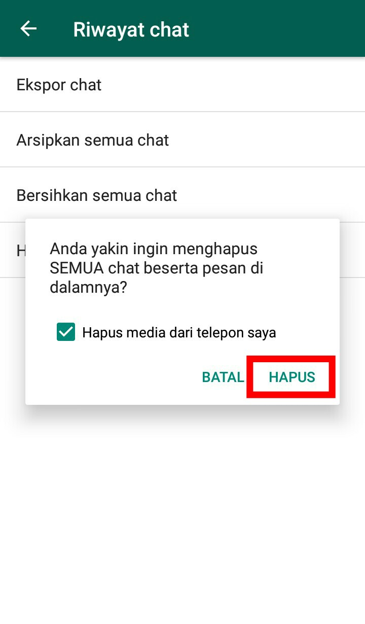 Image 2 Cara Menghapus Pesan Lama di WhatsApp