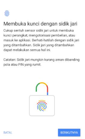 Image 3 Cara Menyiapkan Kunci Layar, Sidik Jari & Sensor Wajah untuk Keamanan di Android