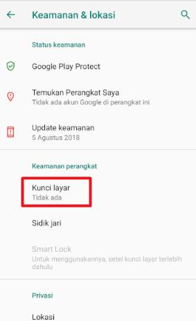 Image 8 Cara Menyiapkan Kunci Layar, Sidik Jari & Sensor Wajah untuk Keamanan di Android