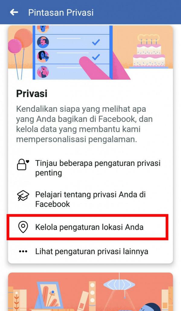 Image 3 Cara Menghentikan Facebook dari Melacak Lokasi Anda di Latar Belakang