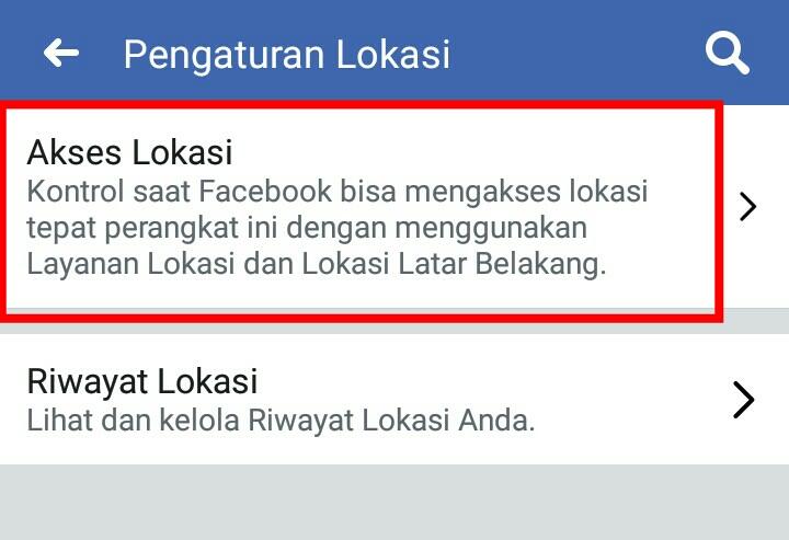 Image 7 Cara Menghentikan Facebook dari Melacak Lokasi Anda di Latar Belakang