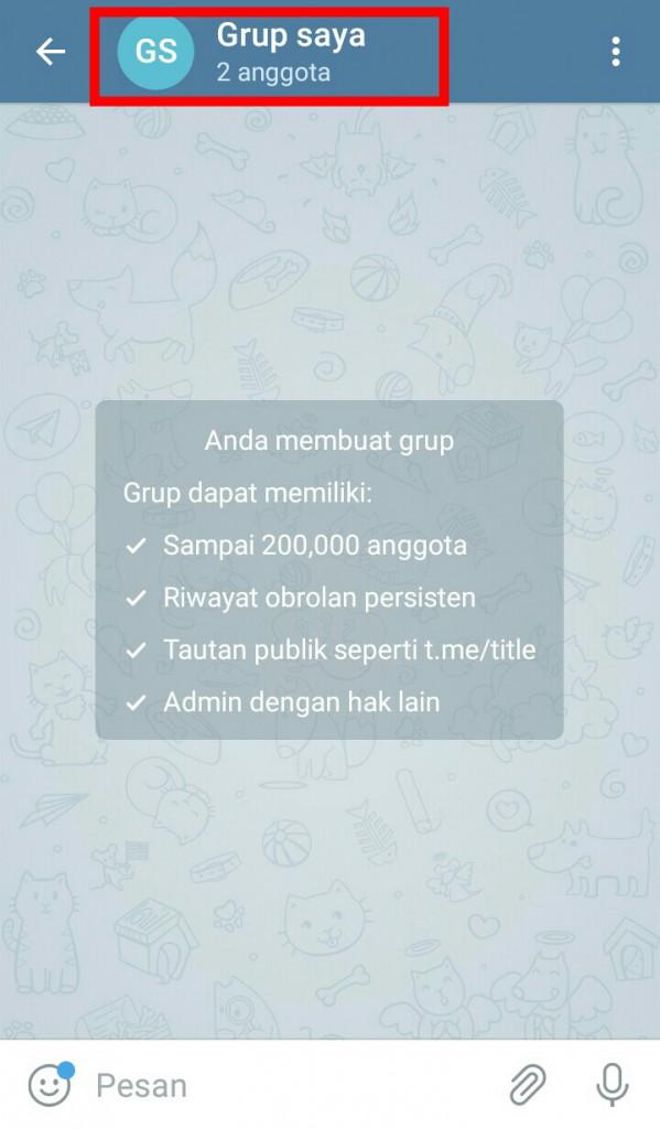 Image 7 Membuat Grup dan Channel di Telegram: Begini Caranya