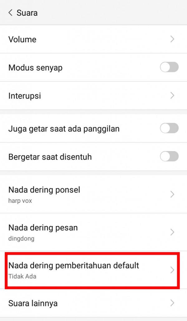 Image 4 Cara Mengubah Suara Pemberitahuan di Android