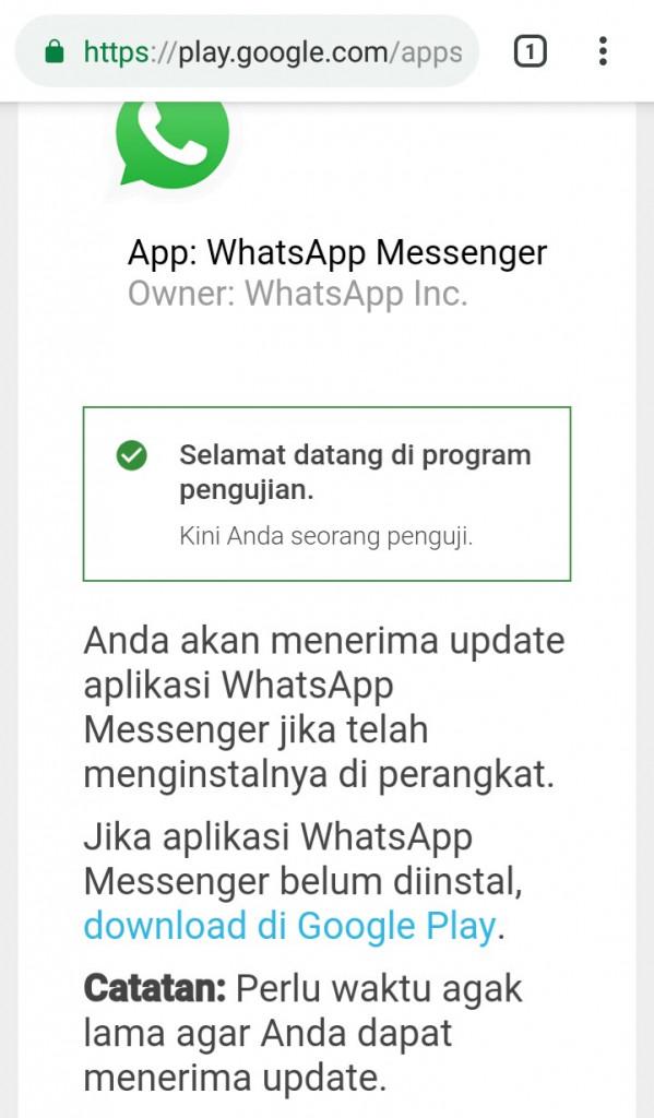 Image 6 APK WhatsApp: Menjadi Beta Tester atau Unduh Versi Lama WhatsApp di Android