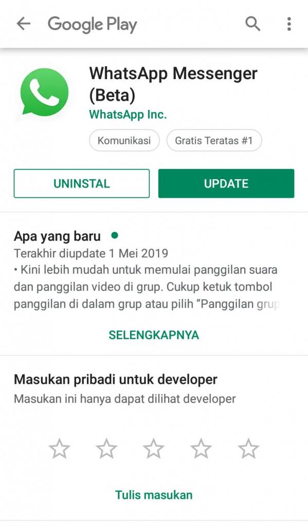 Image 8 APK WhatsApp: Menjadi Beta Tester atau Unduh Versi Lama WhatsApp di Android