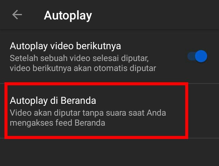 Image 2 Cara Mematikan Autoplay Video YouTube di Android