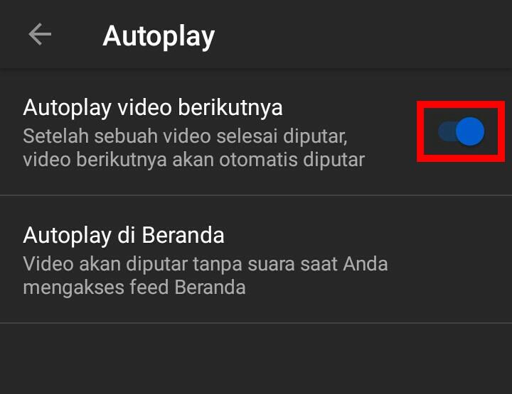 Image 4 Cara Mematikan Autoplay Video YouTube di Android
