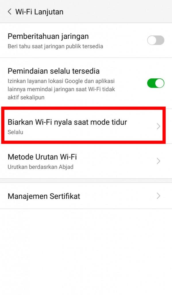 Image 6 Perbaiki Masalah-Masalah Wi-Fi yang Paling Umum di Android: Begini Caranya